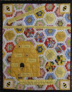 debbie mumm honey bee quilt | beehive quilt block, and since ... : bee quilt pattern - Adamdwight.com