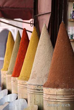 Marrakech - Spice Cones