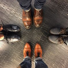 """We're forming the Esquivel shoes fan club."" - Tomoko Ogura"