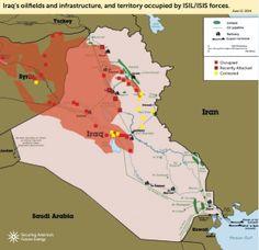 Iraq: Isis minaccia i big del petrolio. Al Maliki chiede intervento USA -