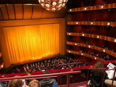 """David H. Koch Theater at Lincoln Center designed by Philip Johnson as the New York State Theater part of the World's Fair 1964-65 / 2008 renovation by JCJ Architecture of New York. Home of the New York City Ballet second home to the American Ballet. Every seat has a good view of the stage. While living in NYC an annual tradition was seeing """"The Nutcracker"""" which we do now when we can. The New York City Ballet's performance is breathtaking beautiful and beloved but newly interpreted every…"""