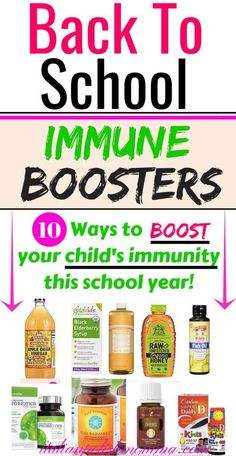 Immune Boosting Vitamin Kit for Kids Back to school immune boosters! Immune system booster vitamins and natural remedies for kids! Your must-have supplements to keep your kids healthy this school year and protect them from cold and flu season! Natural Health Remedies, Natural Cures, Natural Healing, Herbal Remedies, Natural Foods, Natural Treatments, Natural Oil, Natural Products, Natural Sleep