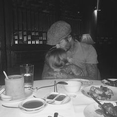 Brooklyn Beckham shares adorable picture of dad David cuddling sister Harper Brooklyn Beckham, David Beckham, Beckham Instagram, Editorial Photography, Fashion Photography, Photography Magazine, The Beckham Family, Cute Couples Cuddling, Videos Tumblr