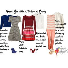 yin with a twist of yang, created by imogenl on Polyvore