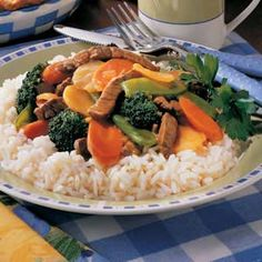 Flavorful Beef Stir-Fry Recipe = family favorite <3