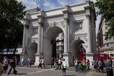 Marble Arch.  Entrada a Hyde Park