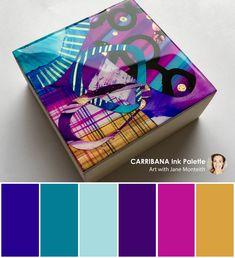 Carribana Colour Palette. #color #colorpalettes