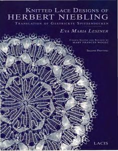 Leszner Eva Maria - Knitted Lace Designs of Herbert Niebling - 2009 - Alex Gold - Picasa Web Albums