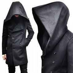 Avant-garde Big Hood Double Coat-Coat 39