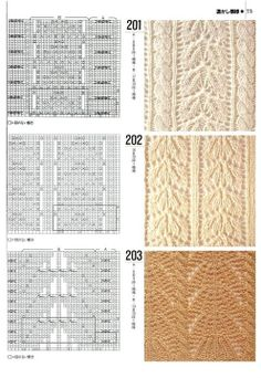 """Photo from album """"Knitting patterns book 1000 on Yandex. Lace Knitting Stitches, Knitting Books, Knitting Charts, Loom Knitting, Free Knitting, Knitting Projects, Knitting Patterns, Crochet Patterns, Lace Patterns"""