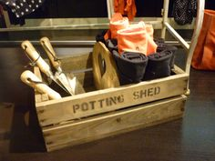 meanwhile in the potting shed, pinned by Ton van der Veer