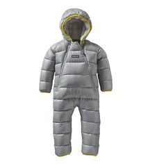 Baby Hi-Loft Down Sweater Bunting, Drifter Grey (DFTG)