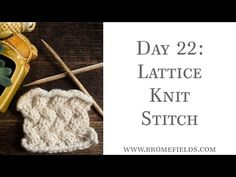 Top 15 Cable Knit Stitches eBook – Brome Fields