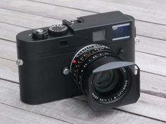 Leica announced the M Monochrom today. The black-and-white-only full frame digital.