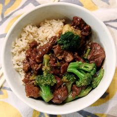 This Perfect Mess: Beef and Broccoli {Freezer Meal}