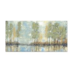 Studio 212 'Through the Mist' 24x48 Textured Canvas Wall Art - Free Shipping Today - Overstock.com - 17709815 - Mobile