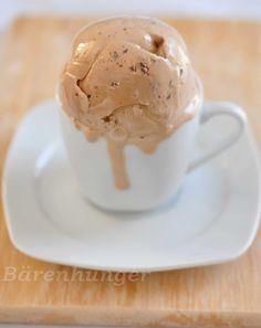 Kaffee Schokoladen Eiscreme   Bärenhunger