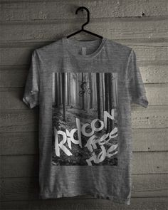 BOCETO FREERIDE_GREY #newtshirt #ridconclothing #freeride #grey #tshirt #bike #downhill www.ridcon.es