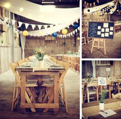 Rustic detail at a wedding at The Barn at South Milton