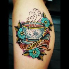 40 food and drink tattoos to amaze and delight you... http://cmpny.co.uk/1lQzLGE
