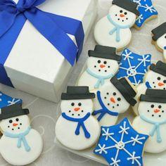 images of winter cookies | Winter Wonderland Iced Cookies @ Gourmet-Cookie-Bouquets.com