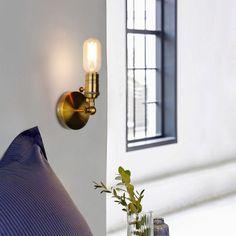 Retro-Sconce-Wall-Lamps-Vintage-Loft-Lights-E27-Bulb-Golden-Iron-Retro-Industrial-Home-deco-Lighting Wall Lamps, Wall Sconces, Wall Lights, Loft Lighting, Industrial House, Luster, Bulb, Iron, Led