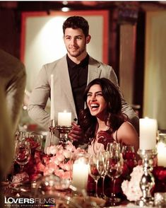 Priyanka Chopra And Nick Jonas Candid Moments From Romantic Dinner Will Win Your Hearts - HungryBoo Bollywood Couples, Bollywood Stars, Wedding Dinner, Post Wedding, Priyanka Chopra Wedding, Miss World 2000, Love Is In The Air, Nick Jonas, Indian Celebrities