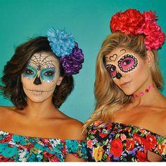 O carnaval é cheio de cor e nada mais colorido do que as caveiras mexicanas! Ela simboliza a vida e afasta os maus espíritos, ou seja tudo a ver hahahahahaaha Quem nos ajudou a tornar nossas inspir...