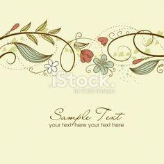 Flower Doodle Royalty Free Stock Vector Art Illustration