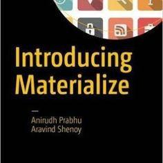 Introducing Materialize Engineering Notes, Computer Engineering, Computer Science, Computer Books, Design Language, Science Books, Up And Running, Web Application, Information Technology