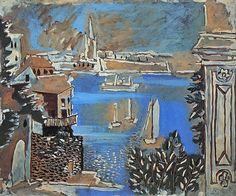 Pablo Picasso, 1922 Paysage de Dinard