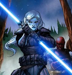 Jarael A young female Arkanian in the comic book series Star Wars: Knights of the Old Republic