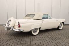 1956 Ford Thunderbird Ford Thunderbird, Convertible, Car Ford, Muscle Cars, Planes, Trains, Boats, Automobile, American