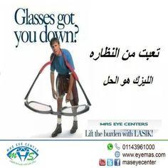 Stop using #glasses  Lift the burden with #lasik  www.eyemas.com