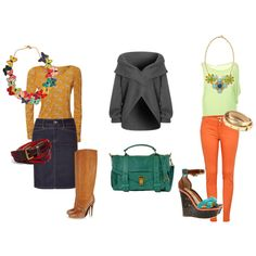 set 13, created by lovecolour on Polyvore