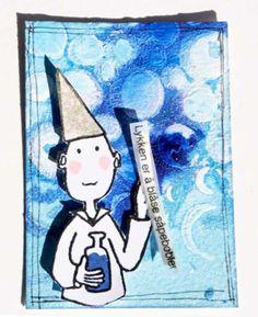 Andrine og Marens Landhandleri - Blog: Dt LindaB - Digger Artist Trading Cards Digger, Artist Trading Cards, Snoopy, Blog, Fictional Characters, Blogging, Fantasy Characters