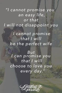 Wedding Quotes : Picture Description Because marriage is a choice. And choosing to love him is the only thing that will keep us together! Marriage Advice, Love And Marriage, Happy Marriage, What Is Marriage Quotes, Marriage Promises, Marriage Anniversary Quotes, Married Life Quotes, Wedding Promises, Healthy Marriage