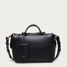 b8c26ff36 Shop the Kissen Small shoulder bag from Bally. This designer day-to-day  handbag is crafted in butter-soft black leather for a truly luxurious  finish.