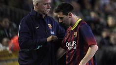 Liga - Barca fertigt Betis ab, Messi muss verletzt raus