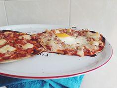 #wrap #wrappizza #healthypizza