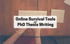 Embarking on your PhD is an exciting time, but it's also a time that can be fraught with worry. Now more than ever, you need to make sure your academic writing is really up to scratch. If you're concerned about your writing, there's lots of tools online now that will help you get it right. Here's some of the best survival tools online to make your life that little bit easier. Easy Word Count: First things first, you need to keep track of your word count. It'll help you kee...