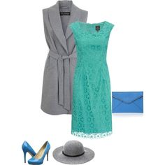 Everything about a cool summer is cool including the color turquoise. The turquoise and periwinkle blue shown are directly next to each other on the cool summer color wheel creating an analogous color scheme. Grey is a perfect neutral.  You could also try wearing your turquoise as an accent on a c