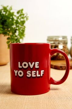 Love Yo Self Mug | Urban Outfitters