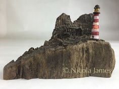 Driftwood Art Unusual Gift.  Twin Stack by StickyourneckoutShop