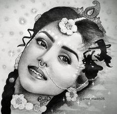 Radha Krishna Sketch, Krishna Drawing, Krishna Painting, Radha Krishna Photo, Krishna Photos, Krishna Pictures, Krishna Art, Radhe Krishna, Lord Krishna