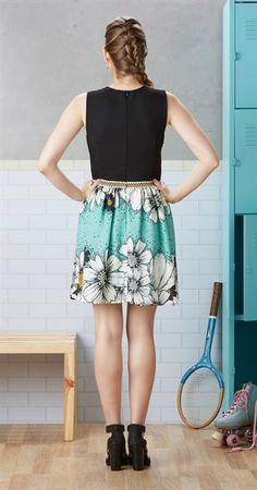Vestido Flor de Verão