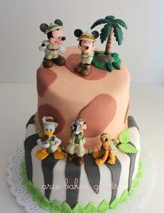 Disneys Animal Kingdom cake