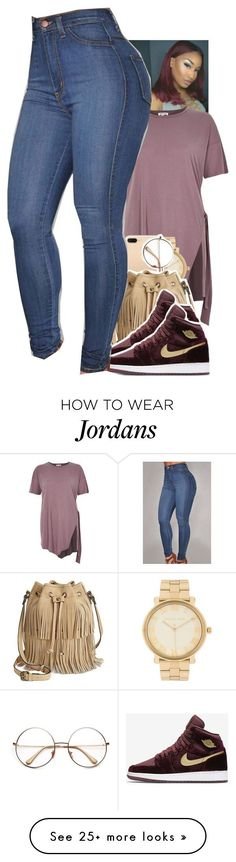 Untitled #1886 by toniiiiiiiiiiiiiii on Polyvore featuring River Island, Michael Kors, Patricia Nash and NIKE