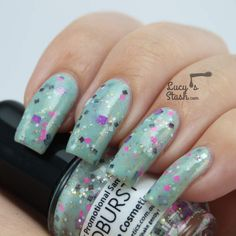 Review & swatches of Femme Fatale Cloudburst