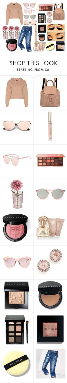 """""""Fashion✨"""" by emilyg-5 ❤ liked on Polyvore featuring Mellow World, Stila, Too Faced Cosmetics, Wildfox, Bobbi Brown Cosmetics, Vince Camuto, Karen Walker, Dana Rebecca Designs and Tommy Hilfiger"""